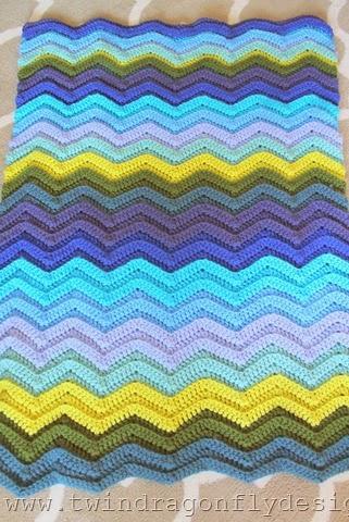 Seafarer Crochet Blanket (4)