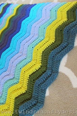 Seafarer Crochet Blanket (5)