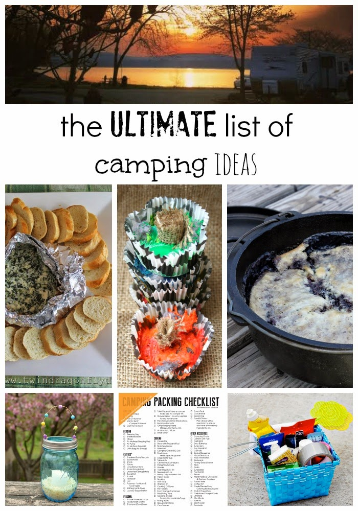 Campfire Spinach Dip and the Ultimate List of Camping Ideas