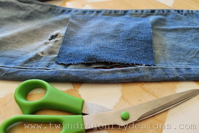 How to patch jeans (5)