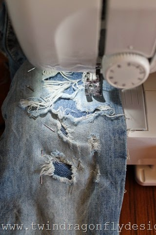 How to patch kids jeans in a cool way