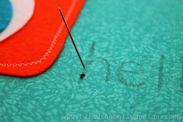 Monster Embroidery Hoop Art (5)