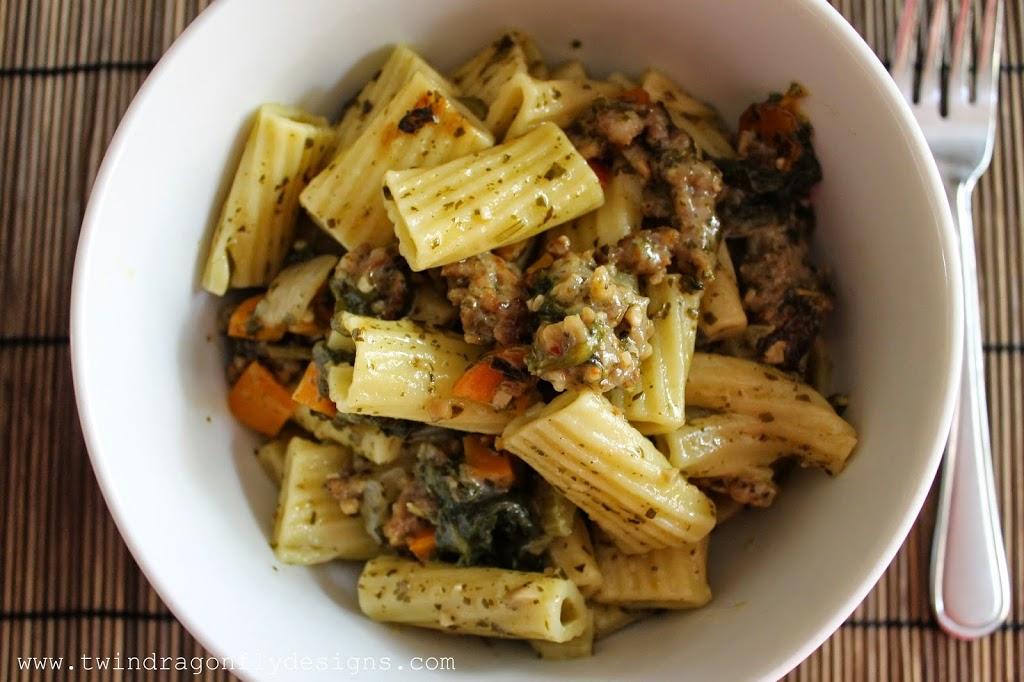 Crock pot penne pasta recipe