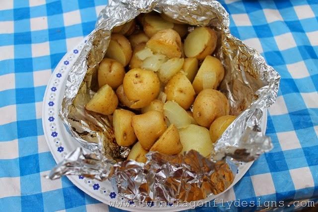 Tin Foil Packet Potatoes (10)