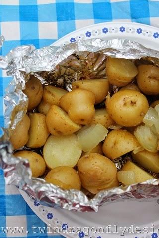 Tin Foil Packet Potatoes (14)