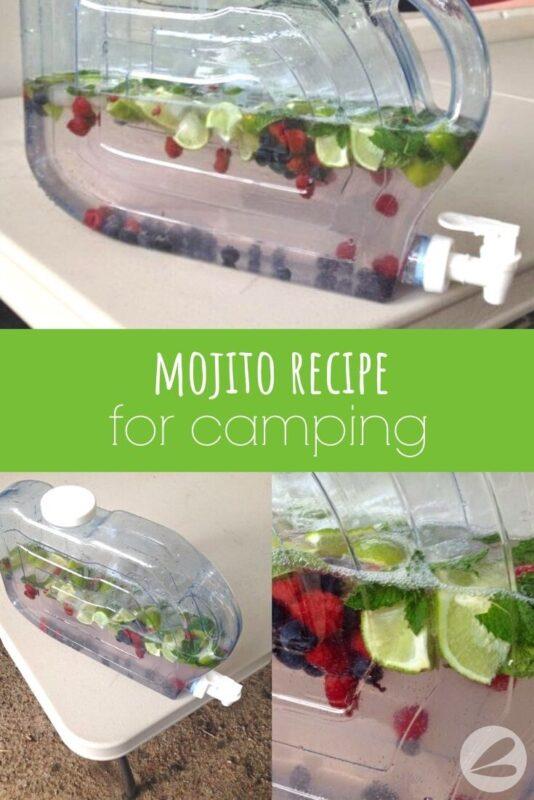 mojito recipe for camping