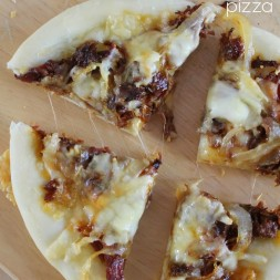 Individual Pulled Pork & Caramelized Onion Pizza Recipe