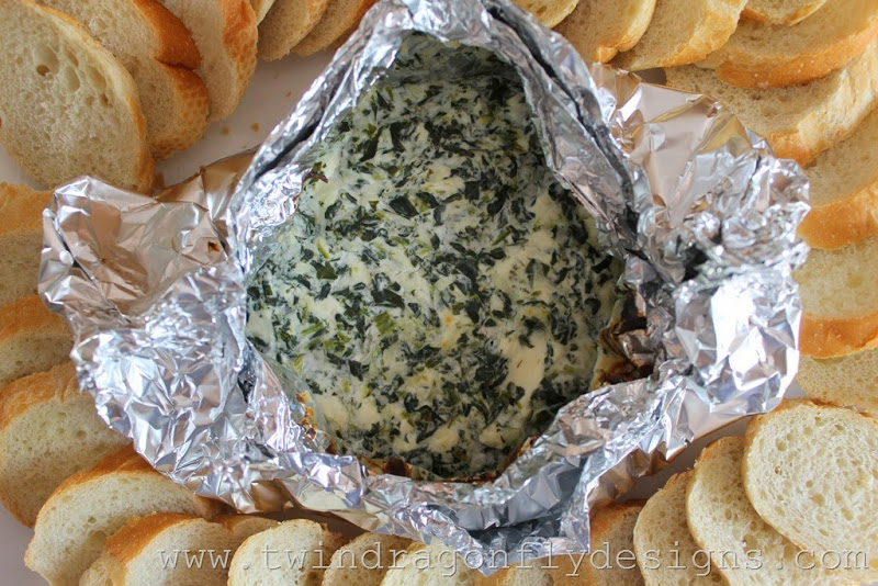 Campfire Spinach Dip