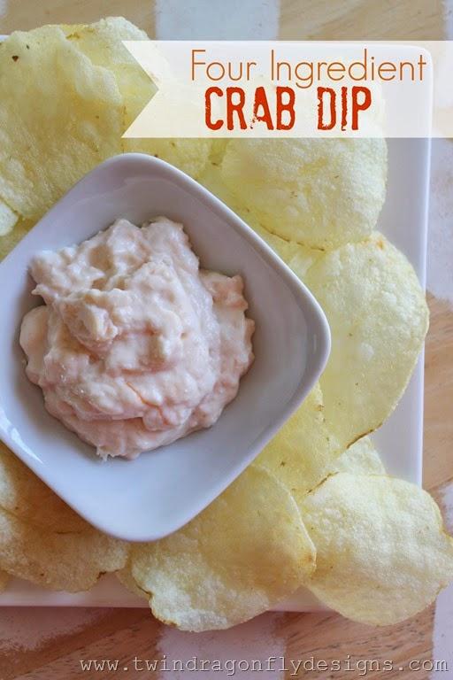 Four Ingredient Crab Dip Recipe