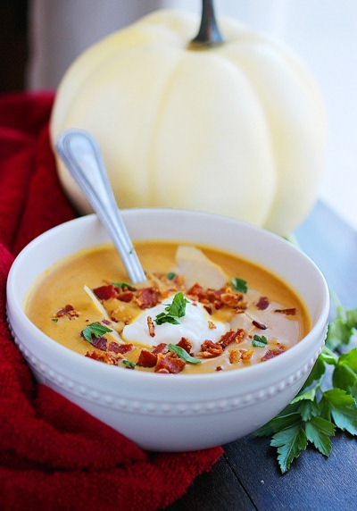 Creamy Pumpkin Soup[2]