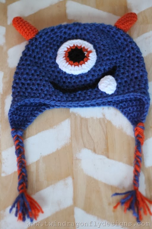 Crochet Monster Hat (12)_thumb
