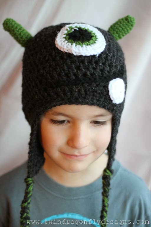 Crochet Monster Hat (30)_thumb