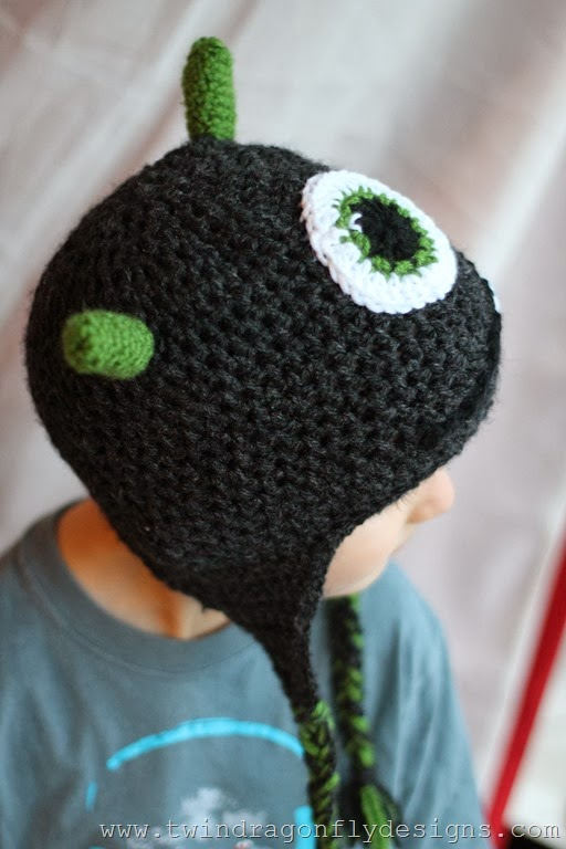Crochet Monster Hat (35)_thumb
