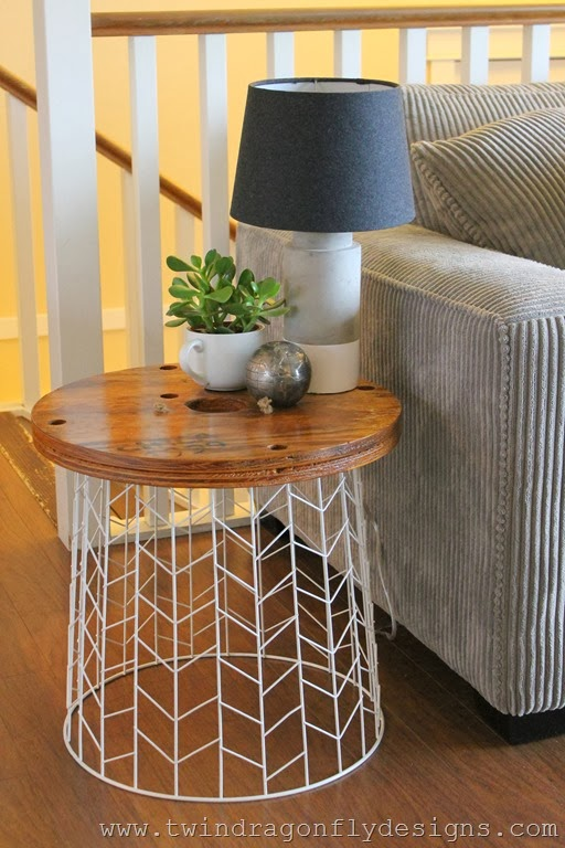 Diy Accent Table Tutorial 187 Dragonfly Designs