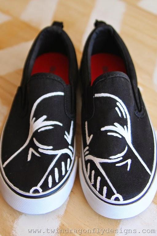 Darth Vader Shoes