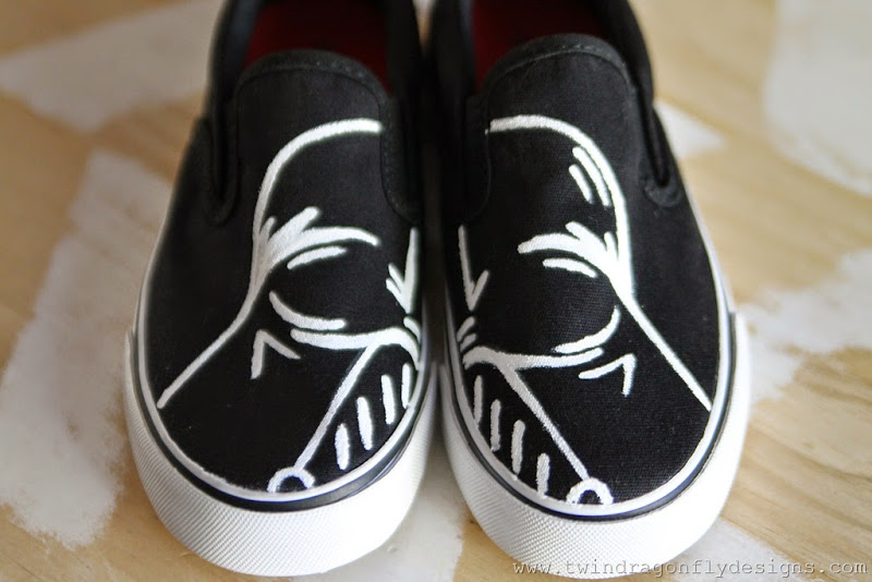 0d759a05e2ae5d Darth Vader Shoes Tutorial » Dragonfly Designs