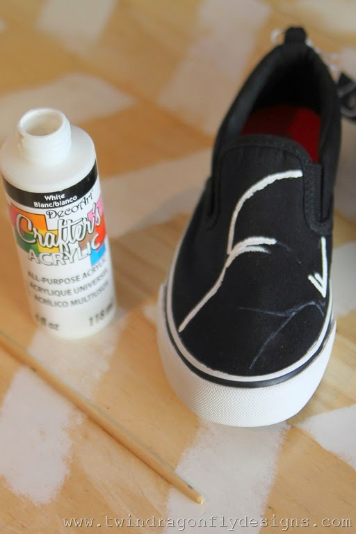 Darth Vader Shoes Tutorial