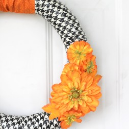 Duct Tape Fall Wreath #fall