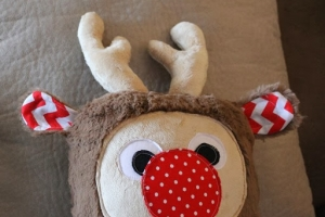 Holiday Plush Reindeer