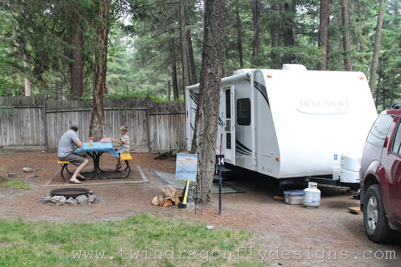 Gold Mountain ~ Campsite Review