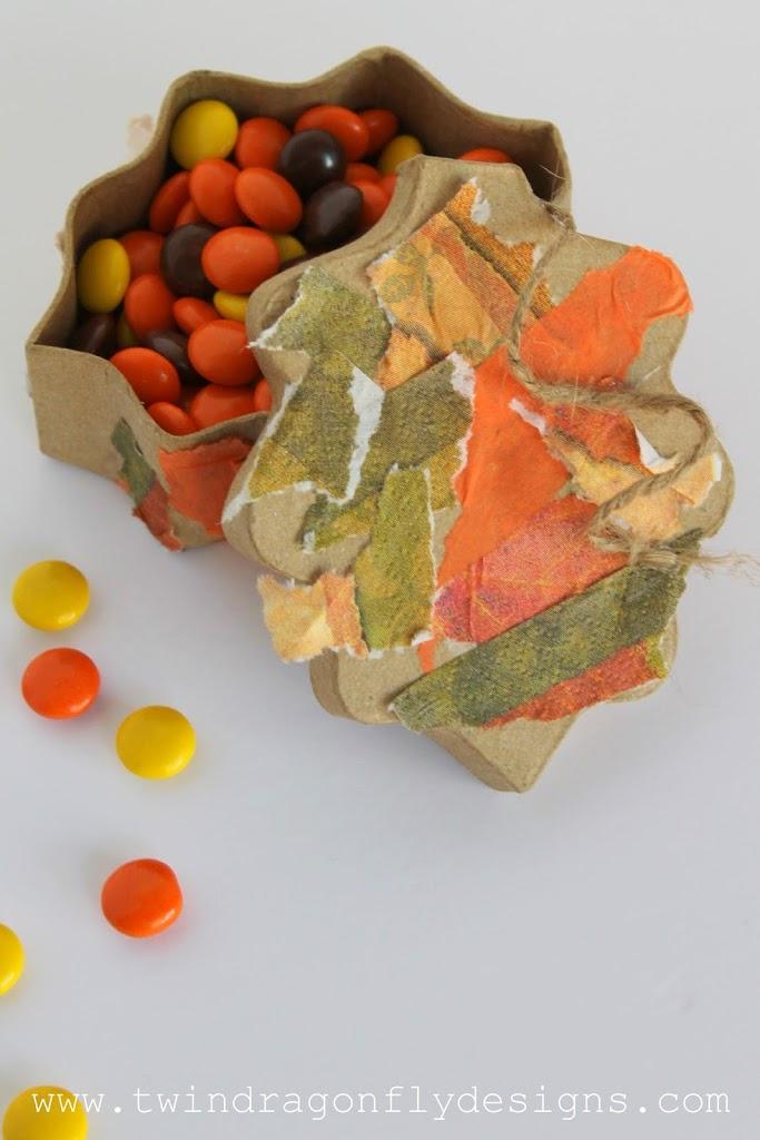 Fall Treasure Box Tutorial