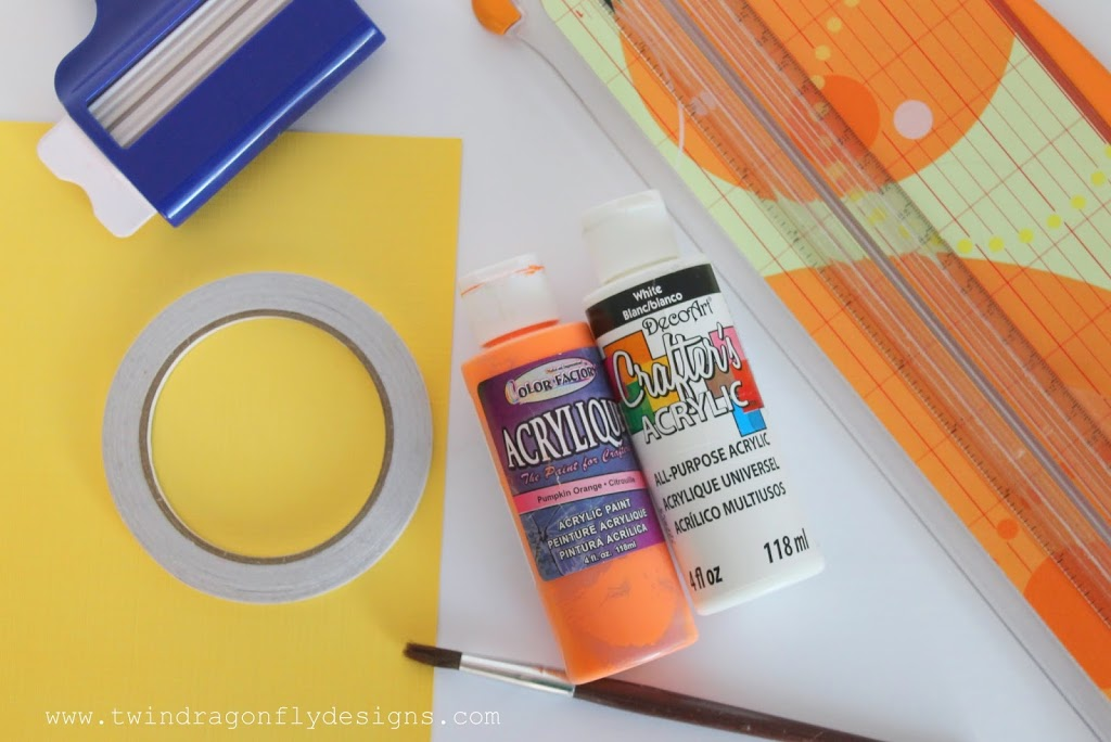 Candy Corn Container Tutorial