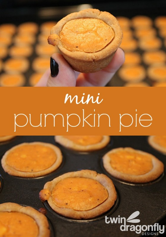 Mini Pumpkin Pie Tart Recipe