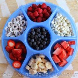 Patriotic Snack Tray and Fruit Dip Recipe
