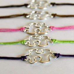 Puzzle Piece Bracelet #autism