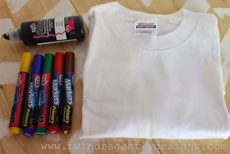 S'more T-shirt Tutorial