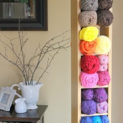 Simple Yarn Storage Solution