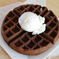 Chocolate Cake Waffle Recipe
