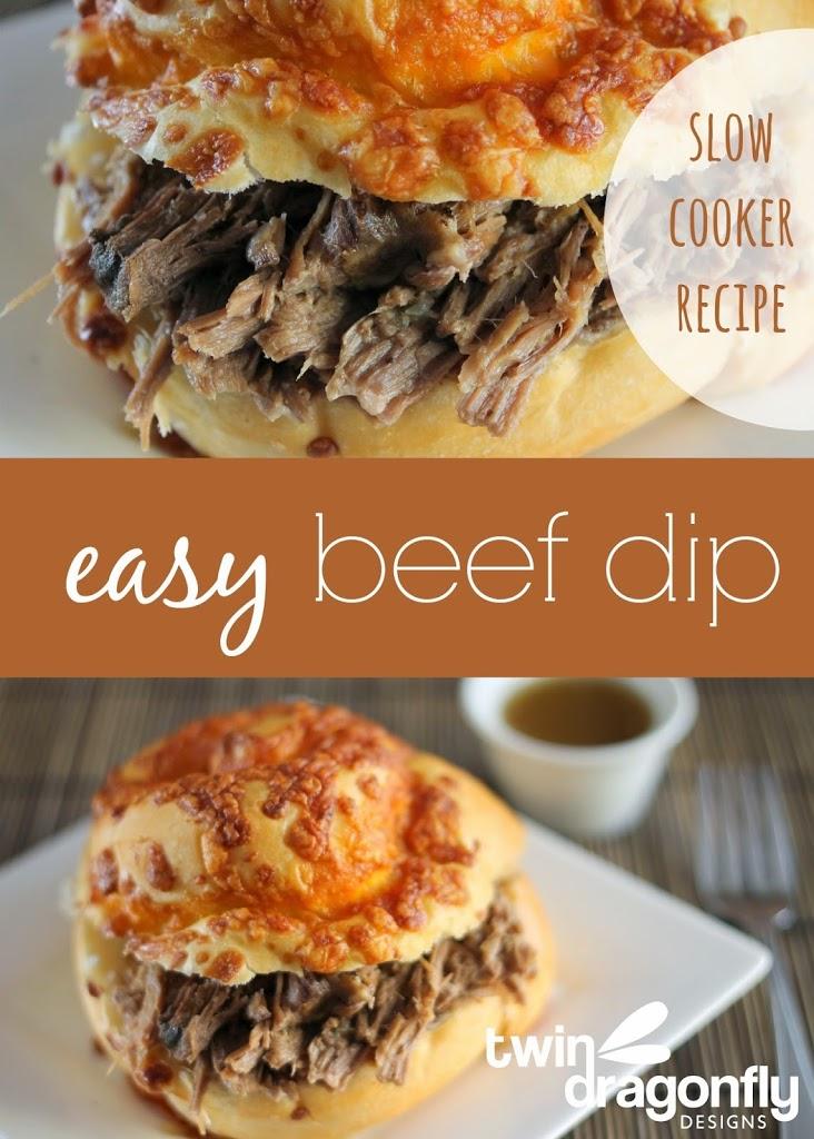 Easy Slow Cooker Beef Dip