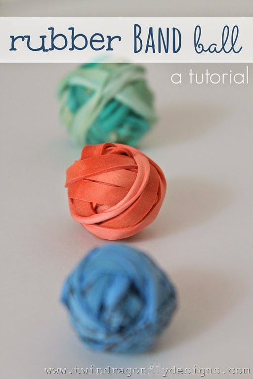 How To Make A Rubber Band Ball 187 Dragonfly Designs