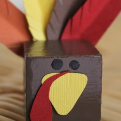 Turkey Block Place Setting