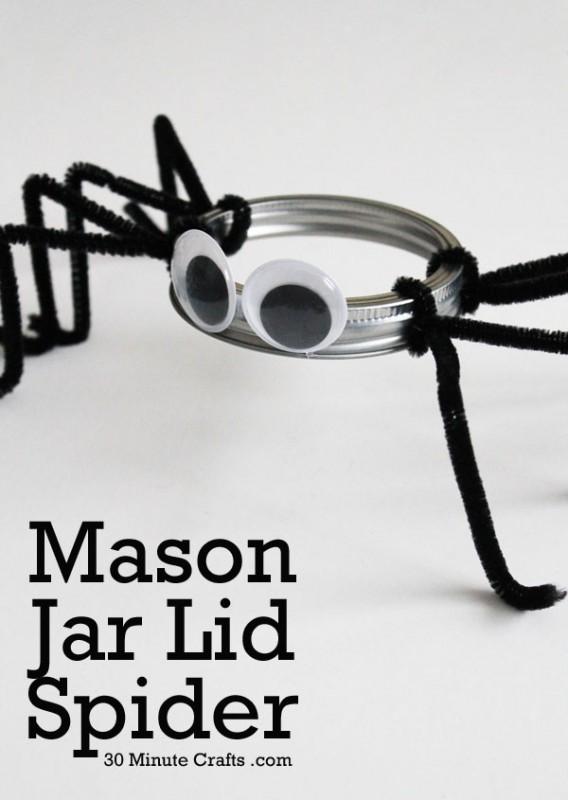 Mason-Jar-Lid-Spider1