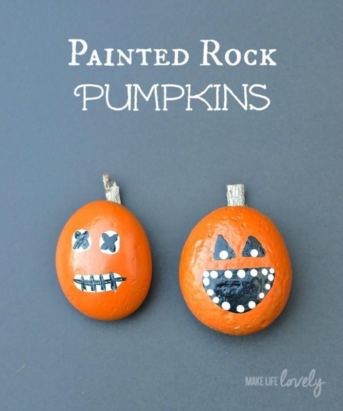 Painted-Rock-Pumpkins-854x1024