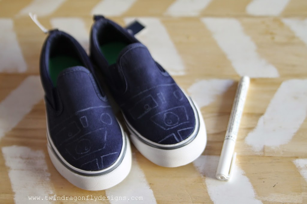 R2D2 Shoes Tutorial