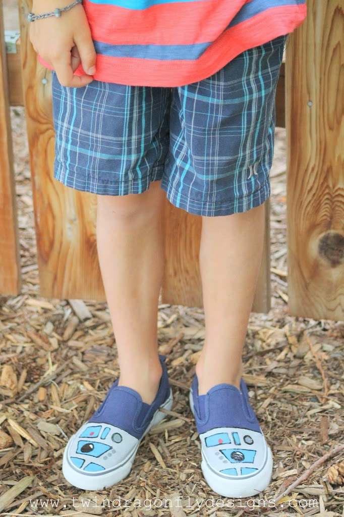 R2D2 Shoes Tutorial