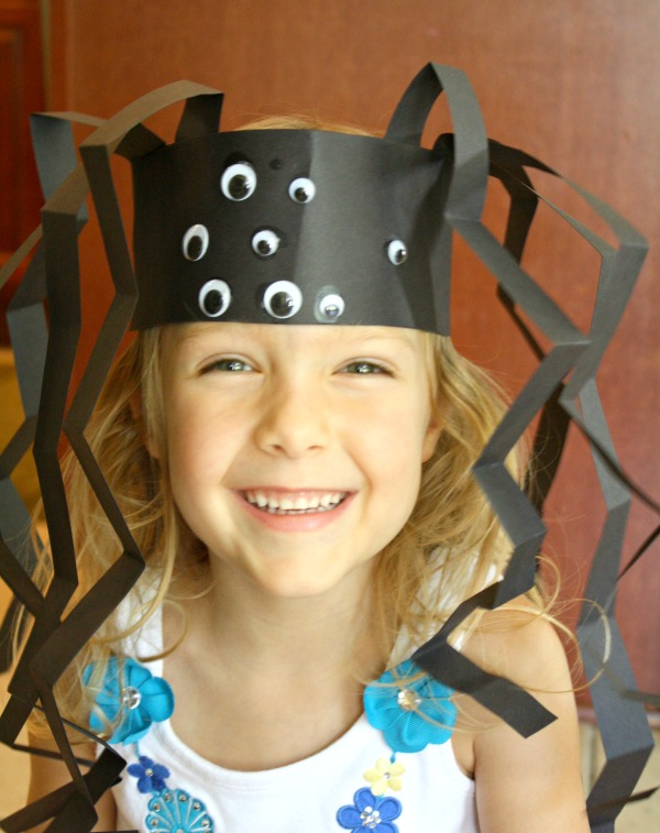 Spider-Headband-Craft