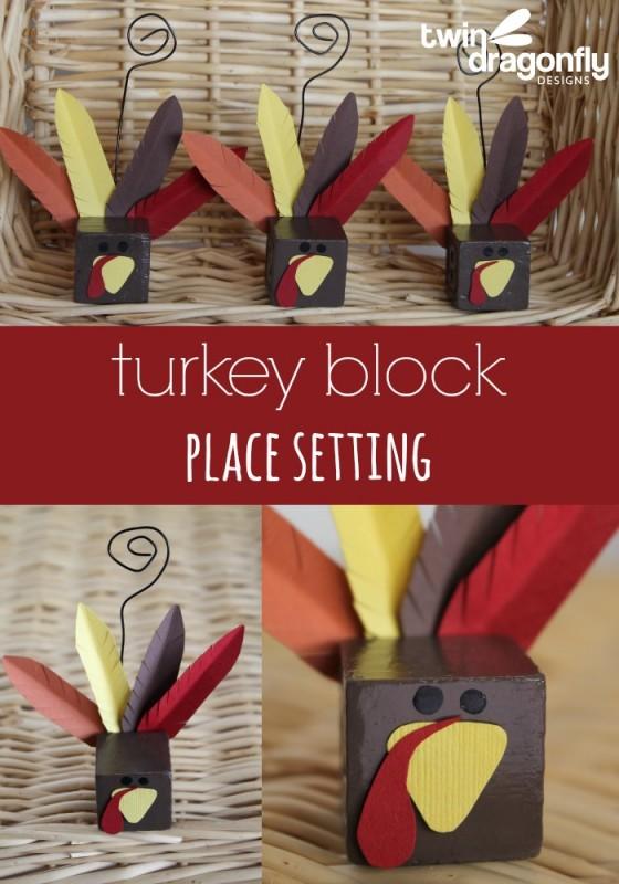 Turkey Block Place Setting