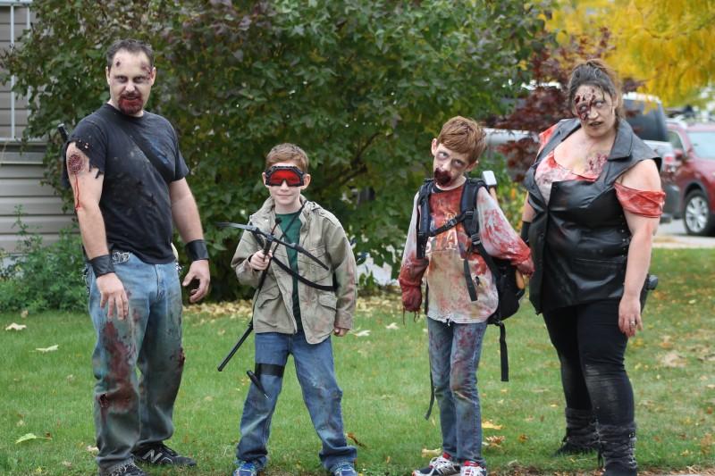 Zombie Photo Shoot 2014