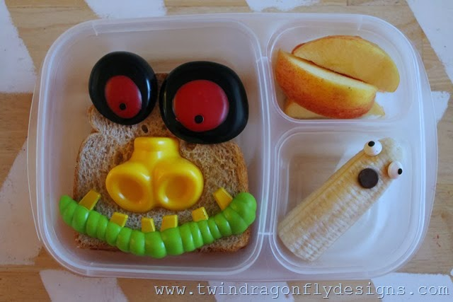 halloween bento lunch