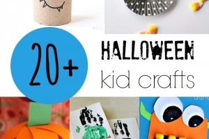 20+ Halloween Kid Crafts