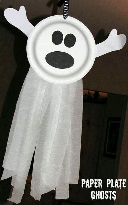 paper-plate-ghost-kids-halloween-craft