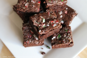 Candy Cane Brownie Recipe