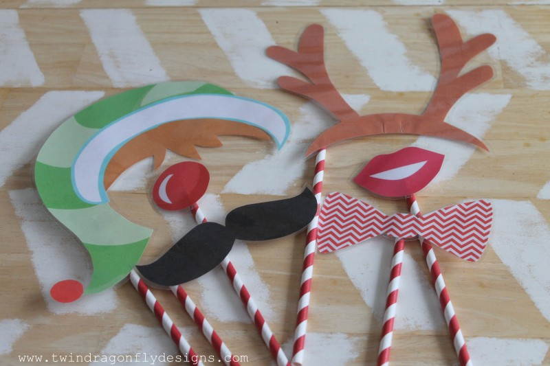 Elf Party Photo Props