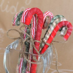 DIY Rustic Candy Canes