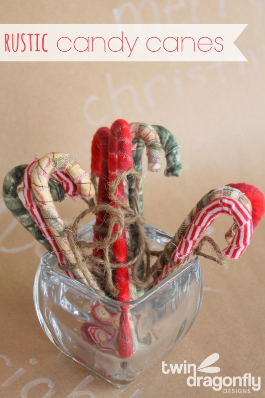 DIY Rustic Primitive Candy Cane