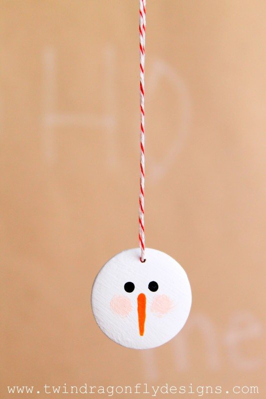 Snowman Face Ornament-009